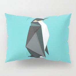 Fractal geometric emperor penguin Pillow Sham