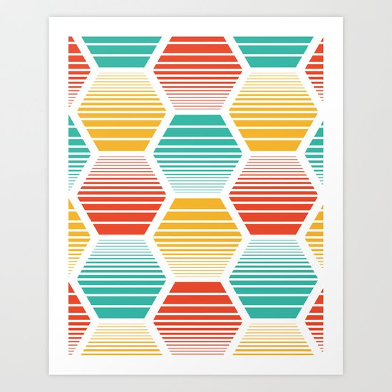 Honey Jive - Summerlicious Art Print
