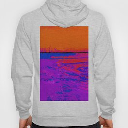 Square Abstract No. 8M by Kathy Morton Stanion Hoody