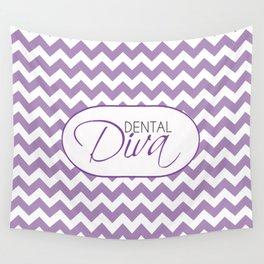 Dental Diva Wall Tapestry