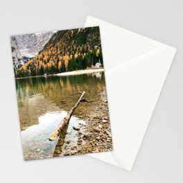 braies lake Stationery Cards