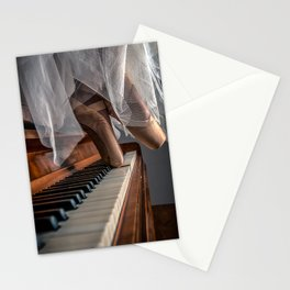 En Pointe in the Key of C Stationery Cards