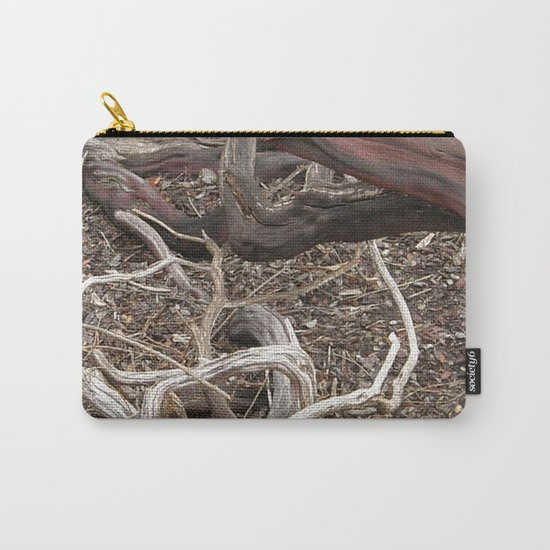 TEXTURES - Manzanita in Drought Conditions #3 Carry-All Pouch