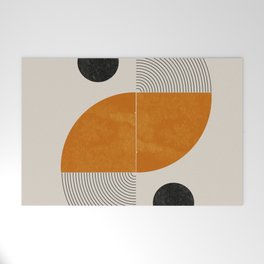 Abstract Geometric Shapes Welcome Mat