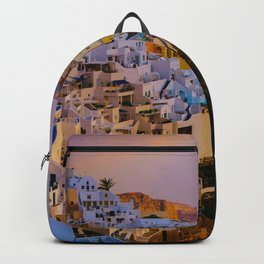 Santorini,Greece Backpack