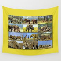 wildlife Wall Tapestries featuring Wildlife by Karl-Heinz Lüpke