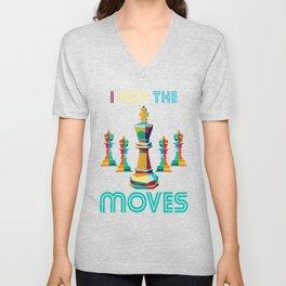 I Got The Moves Unisex V-Neck