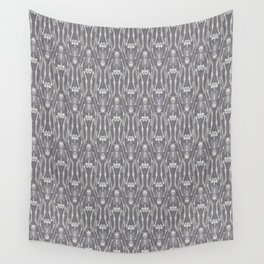 Skeleton Crew pattern Wall Tapestry