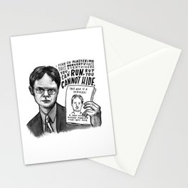 Dwight | Office Stationery Cards