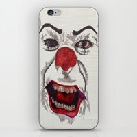 pennywise iPhone & iPod Skins featuring IT. by AlienHobo51