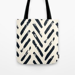 Retro Chevron Pattern 02 Tote Bag