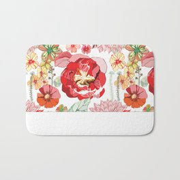 The Roses Speaks What the Heart Wants Bath Mat