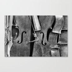 Orchestra (b/w) Canvas Print