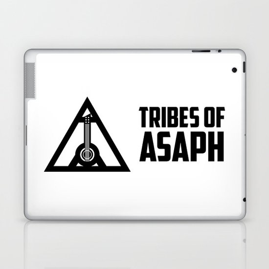 Tribes Of Asaph (Black on light) Laptop & iPad Skin