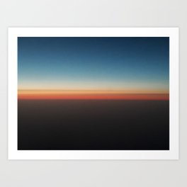 Celebratory Horizon Art Print