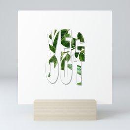 Veg Out Mini Art Print