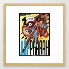 Asp Pharah Framed Art Print