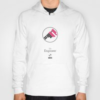 engineer Hoodies featuring The Engineer by MASS collective