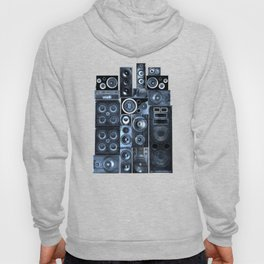 Music Speaker Sound Stack Hoody