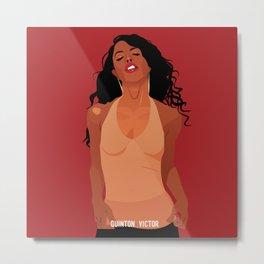 Aaliyah Metal Print