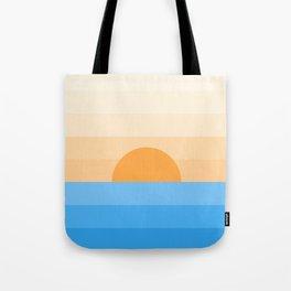 Sun goes down Tote Bag