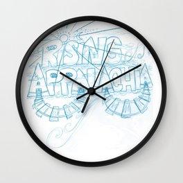 Rising Appalachia Wider Circles Wall Clock