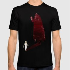 Dracula Movie Poster X-LARGE Black Mens Fitted Tee