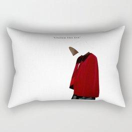 Under His Eye Rectangular Pillow