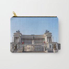Altare della Patria at early morning - Rome, Italy Carry-All Pouch