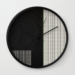 If Not Us, Who? If Not Now, When? Quote Wall Clock