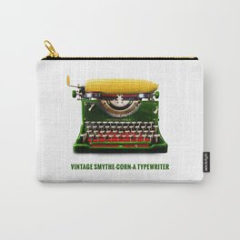 ORGANIC INVENTIONS SERIES: Vintage Smythe-Corn-A Typewriter Carry-All Pouch