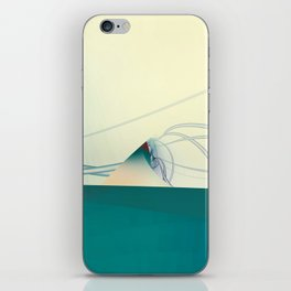 A Day of Sail Boat Racing iPhone Skin