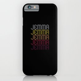 Jemma Name Gift Personalized First Name iPhone Case