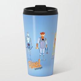 Thundercats - Pixel Nostalgia  Travel Mug
