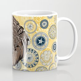 pangolin mandala sunshine Coffee Mug