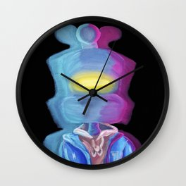 Enter the Royce Zone Wall Clock
