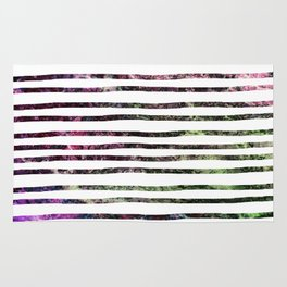 Dark Abalone Marble Stripes Rug