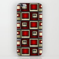 Dark Romance Geometric iPhone & iPod Skin