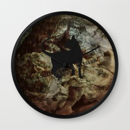 The dark soul shine Wall Clock