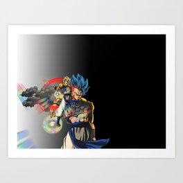 I AM GODgeta Art Print