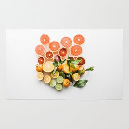 happy citrus #society6 #decor #buyart Rug
