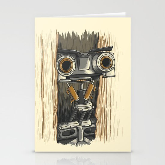 Here's Johnny 5! Stationery Cards