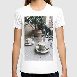 Latte + Plants V T-shirt