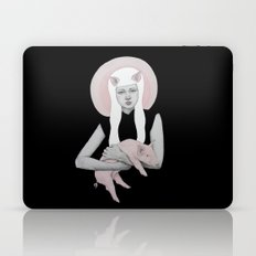 Peonia in Black Laptop & iPad Skin