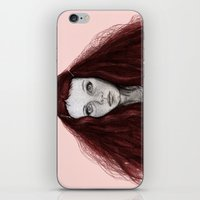 redhead iPhone & iPod Skins featuring Redhead by AParry