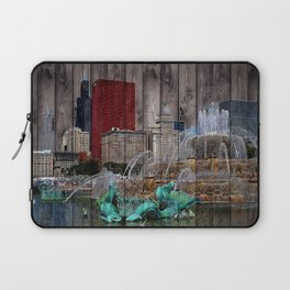 I Love Chicago Laptop Sleeve