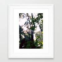 shining Framed Art Prints featuring Shining by Anna Bailey
