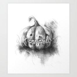 The Unnatural Gourd Art Print