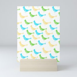 23 Birdies Mini Art Print