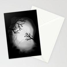 Dark paysage Stationery Cards